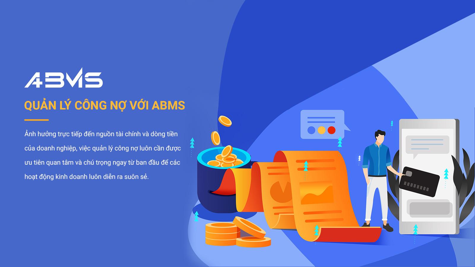 Phần mềm quản lý công nợ ABMS